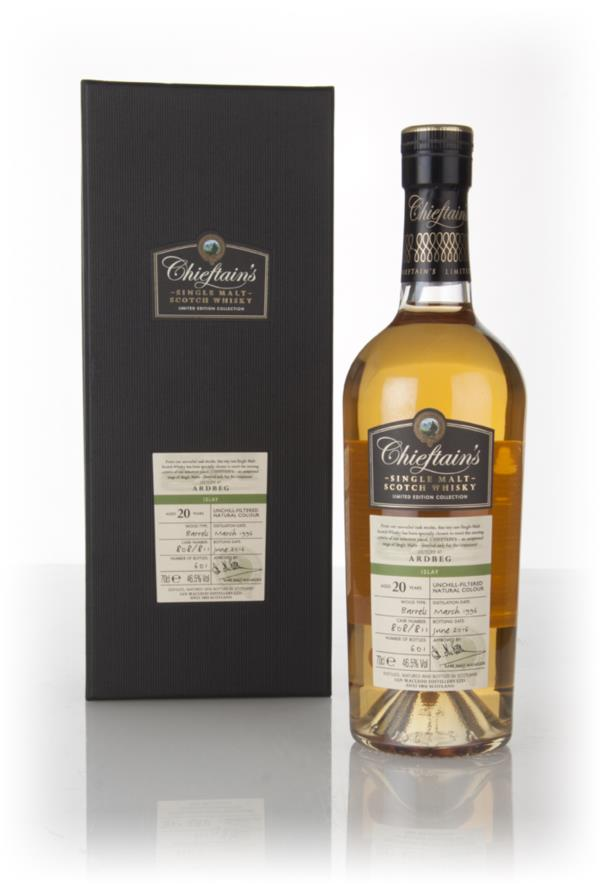 Ardbeg 20 Year Old 1996 (casks 808 & 811) - Chieftain's (Ian Macleod) Single Malt Whisky