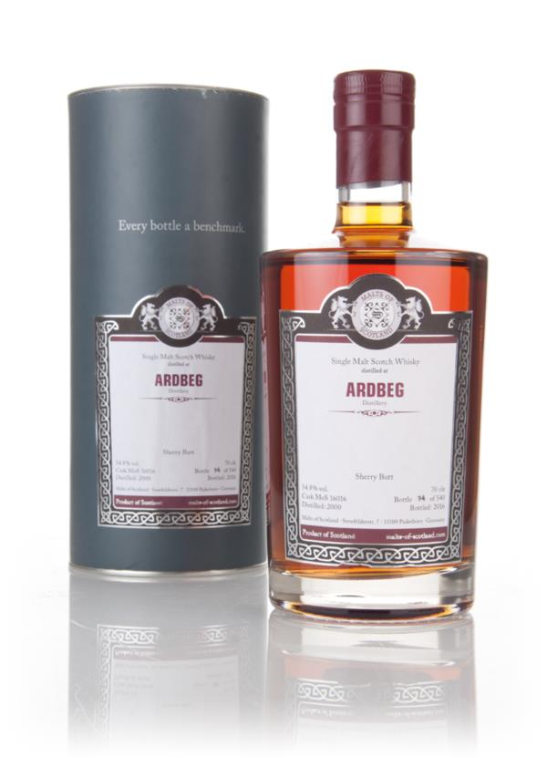 Ardbeg 2000 (bottled 2016) (cask 16016) - Malts of Scotland 3cl Sample Single Malt Whisky
