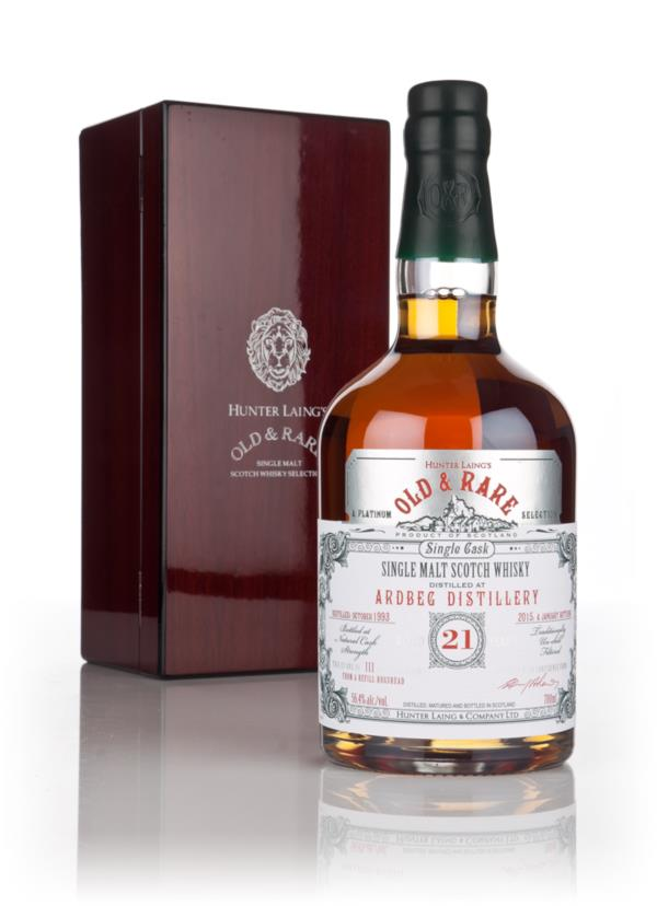Ardbeg 21 Year Old 1993 - Old & Rare Platinum (Hunter Laing) 3cl Sampl Single Malt Whisky