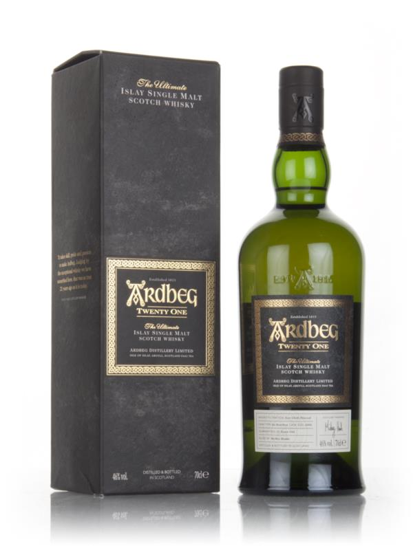 Ardbeg 21 Year Old 3cl Sample Single Malt Whisky