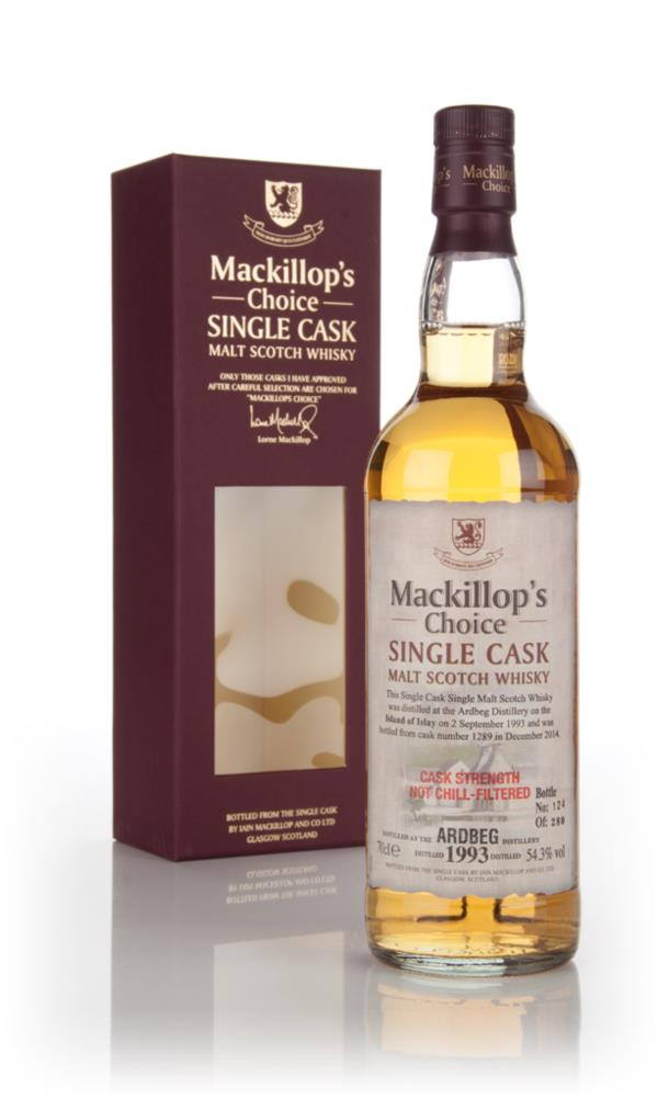 Ardbeg 21 Years Old 1993 (cask 1289) - Mackillop's Choice 3cl Sample Single Malt Whisky