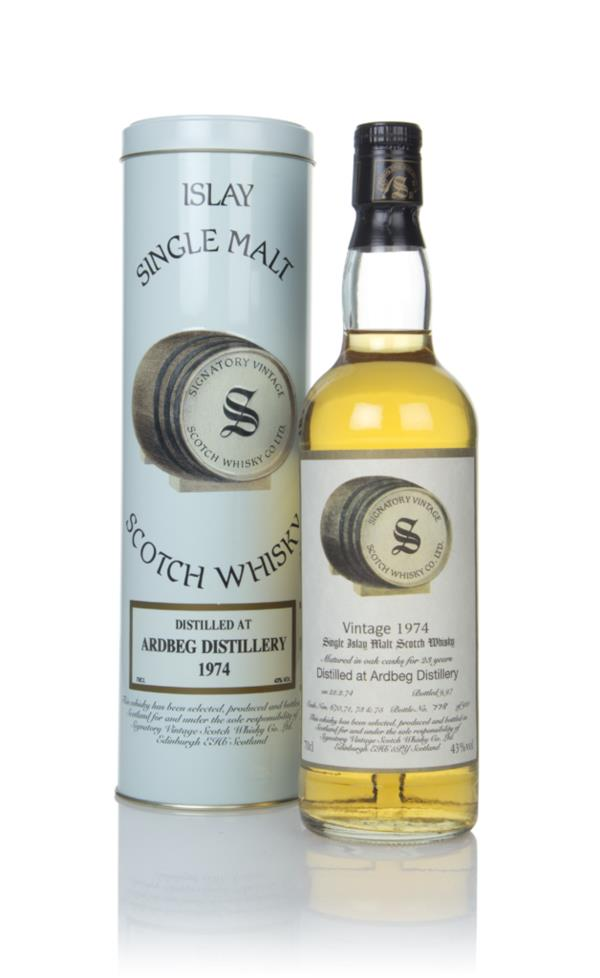Ardbeg 23 Year Old 1974 - Signatory Single Malt Whisky