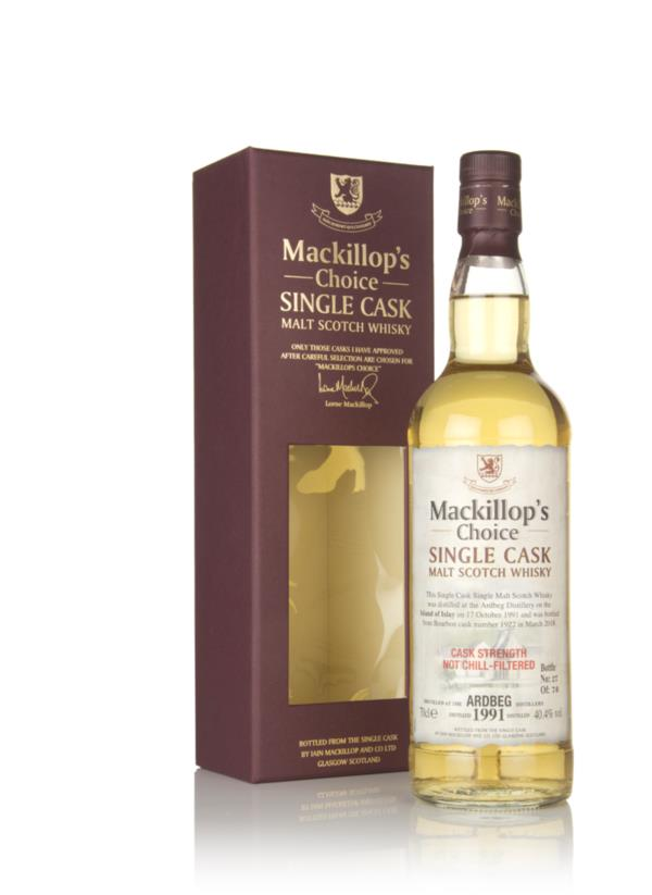 Ardbeg 26 Year Old 1991 (cask 1922) - Mackillops Choice Single Malt Whisky