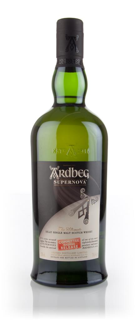 Ardbeg Supernova 2014 (SN2014) - Committee Release 3cl Sample Single Malt Whisky