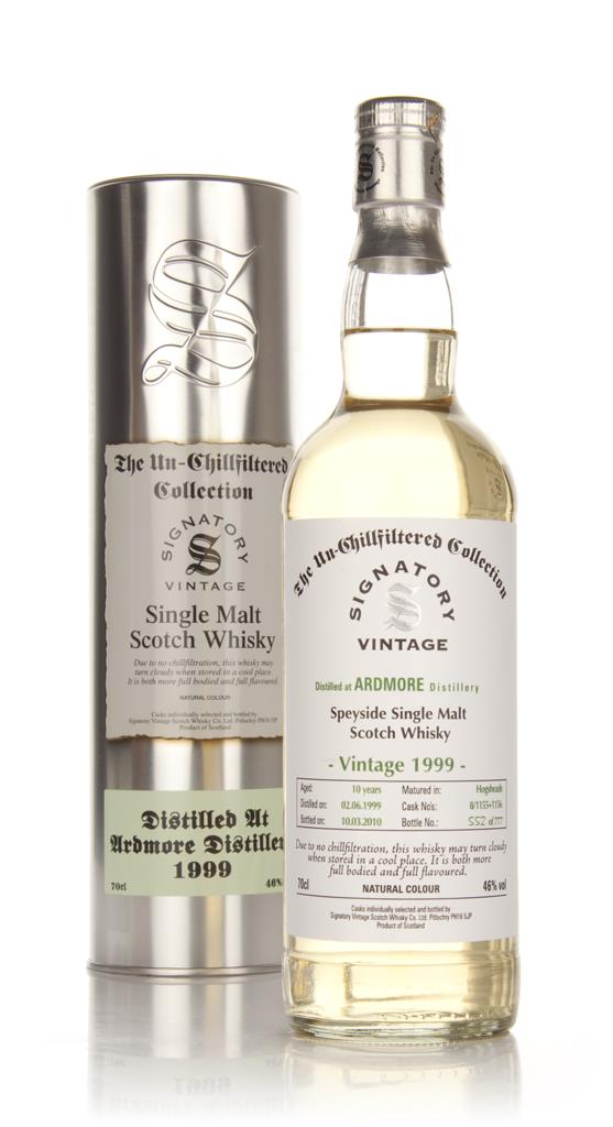 Ardmore 10 Year Old 1999 - Un-Chillfiltered (Signatory) Single Malt Whisky