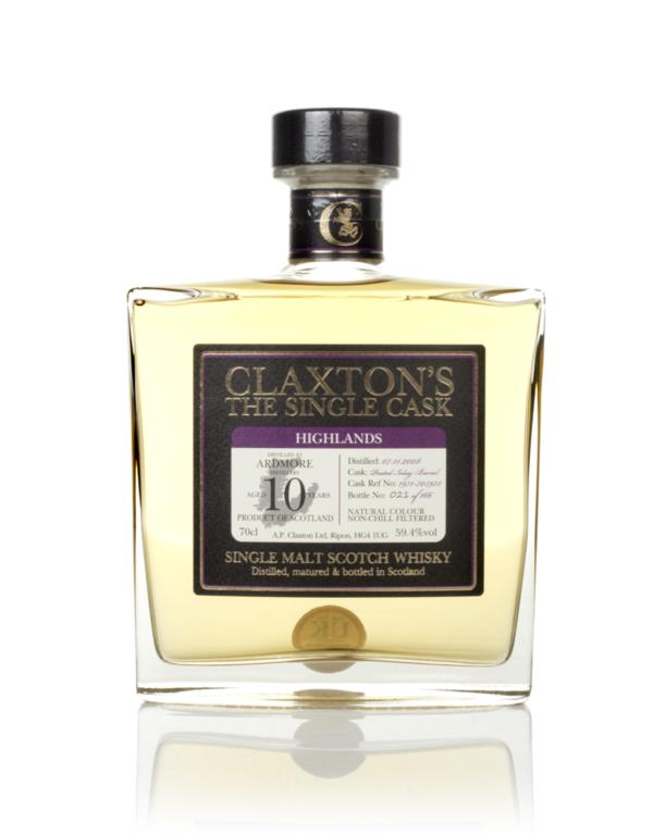 Ardmore 10 Year Old 2008 - Claxtons Single Malt Whisky