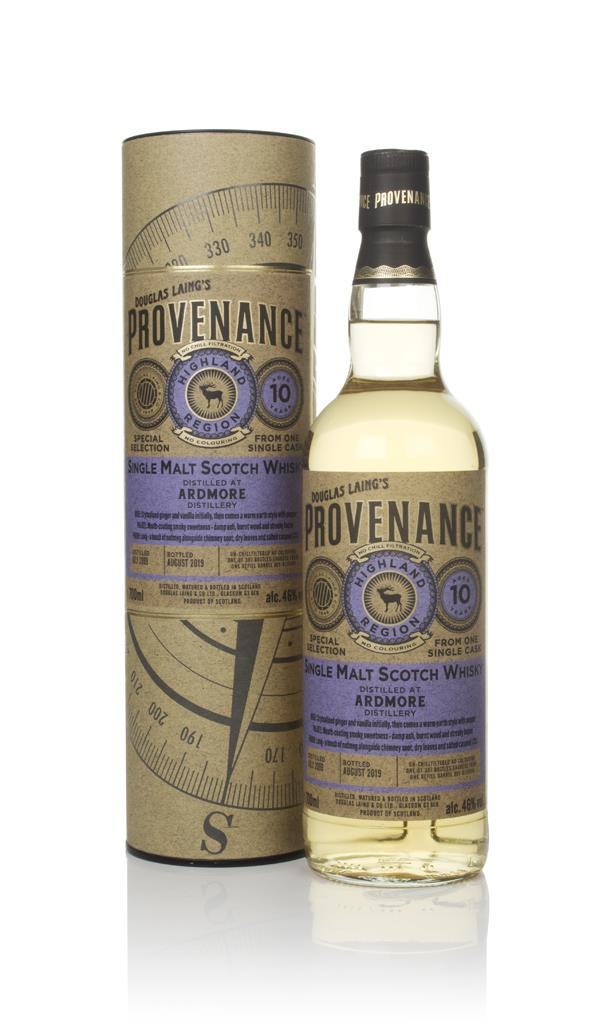 Ardmore 10 Year Old 2009 (cask 13540) - Provenance (Douglas Laing) Single Malt Whisky