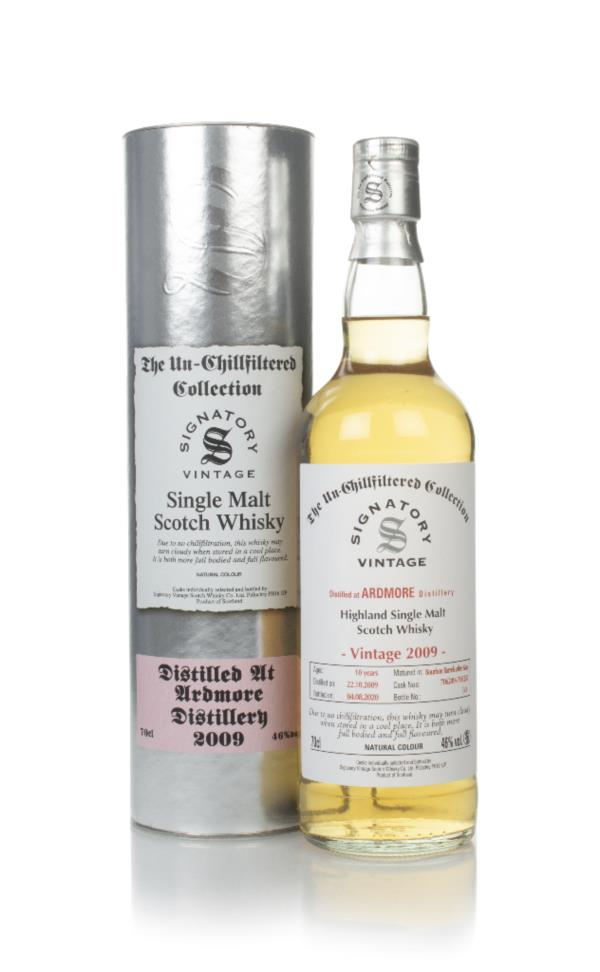 Ardmore 10 Year Old 2009 (casks 706249 & 706251) - Un-Chillfiltered Co Single Malt Whisky