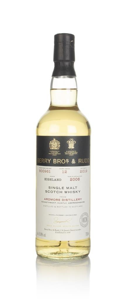 Ardmore 12 Year Old 2006 (cask 800961) - Berry Bros. & Rudd Single Malt Whisky