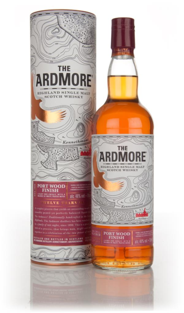 Ardmore 12 Year Old Port Wood Finish Single Malt Whisky