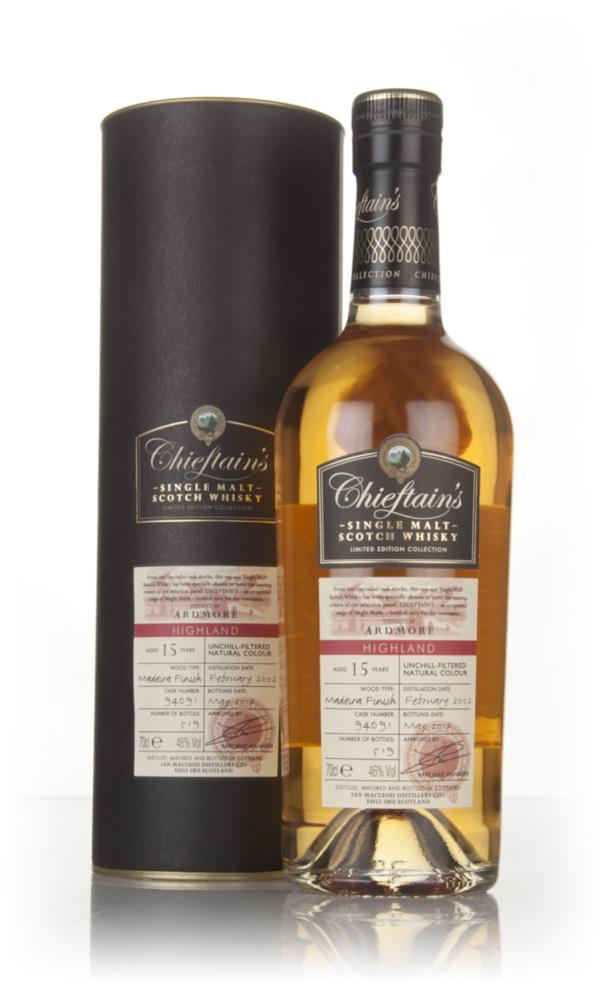 Ardmore 15 Year Old 2002 (cask 94091) - Chieftains (Ian Macleod) Single Malt Whisky
