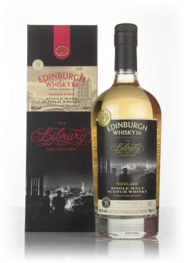 Ardmore 15 Year Old 2002 - The Library Collection (Edinburgh Whisky Lt Single Malt Whisky