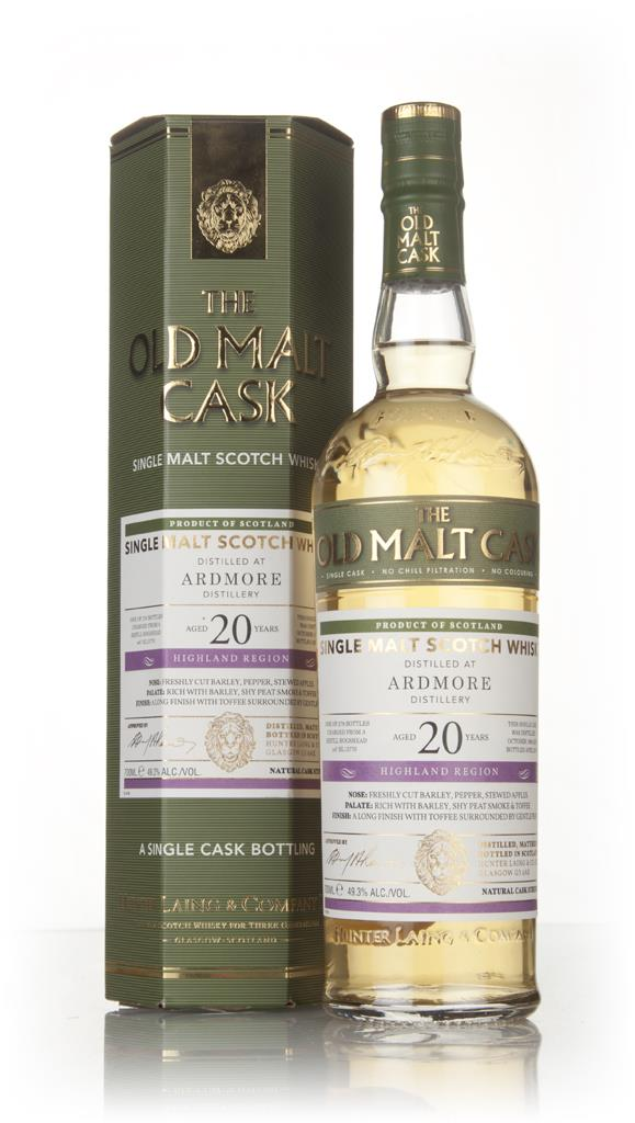 Ardmore 20 Year Old 1996 (cask 13770) - Old Malt Cask (Hunter Laing) Single Malt Whisky
