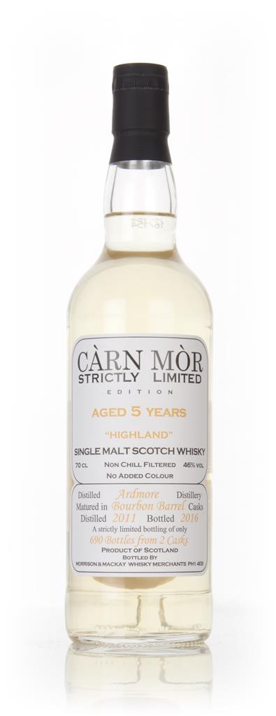 Ardmore 5 Year Old 2011 - Strictly Limited (Carn Mor) Single Malt Whisky