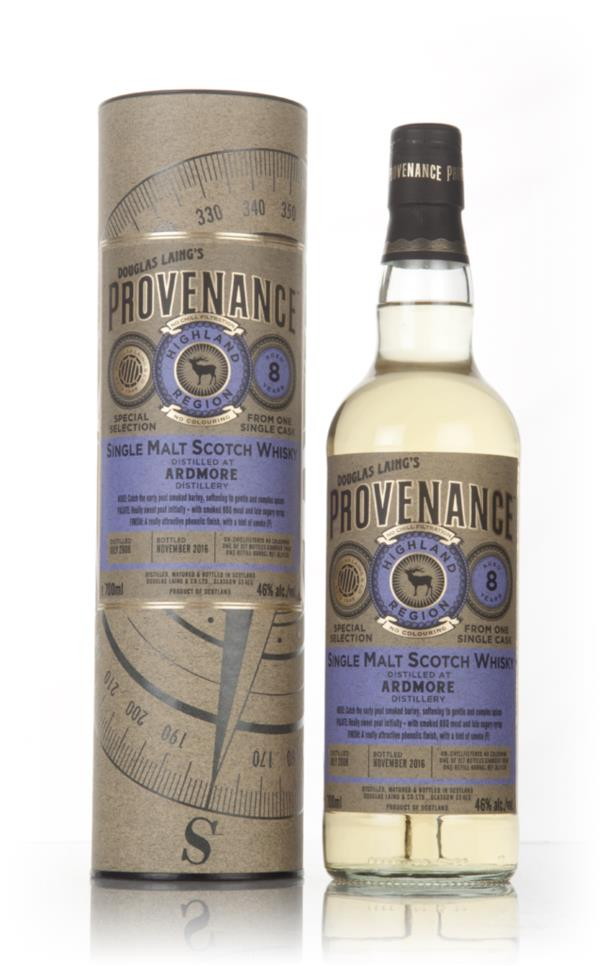 Ardmore 8 Year Old 2008 (cask 11536) - Provenance (Douglas Laing) Single Malt Whisky