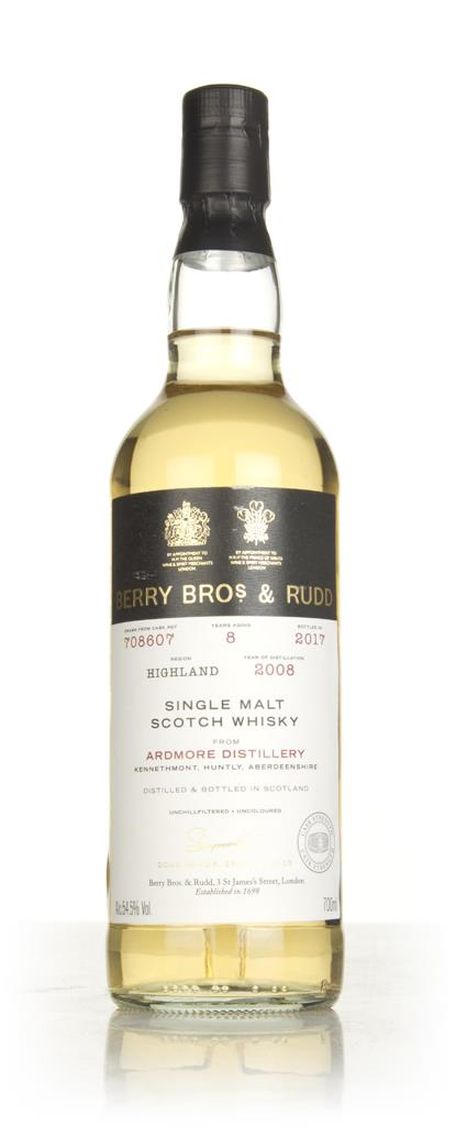 Ardmore 8 Year Old 2008 (cask 708607) - Berry Bros. & Rudd Single Malt Whisky