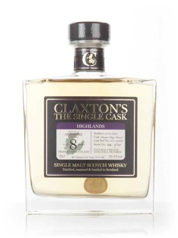 Ardmore 8 Year Old 2008 - Claxtons Single Malt Whisky