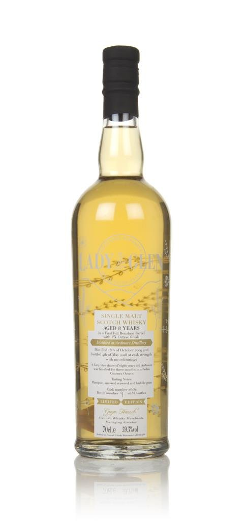 Ardmore 8 Year Old 2009 (cask 2615e) - Lady of the Glen (Hannah Single Malt Whisky