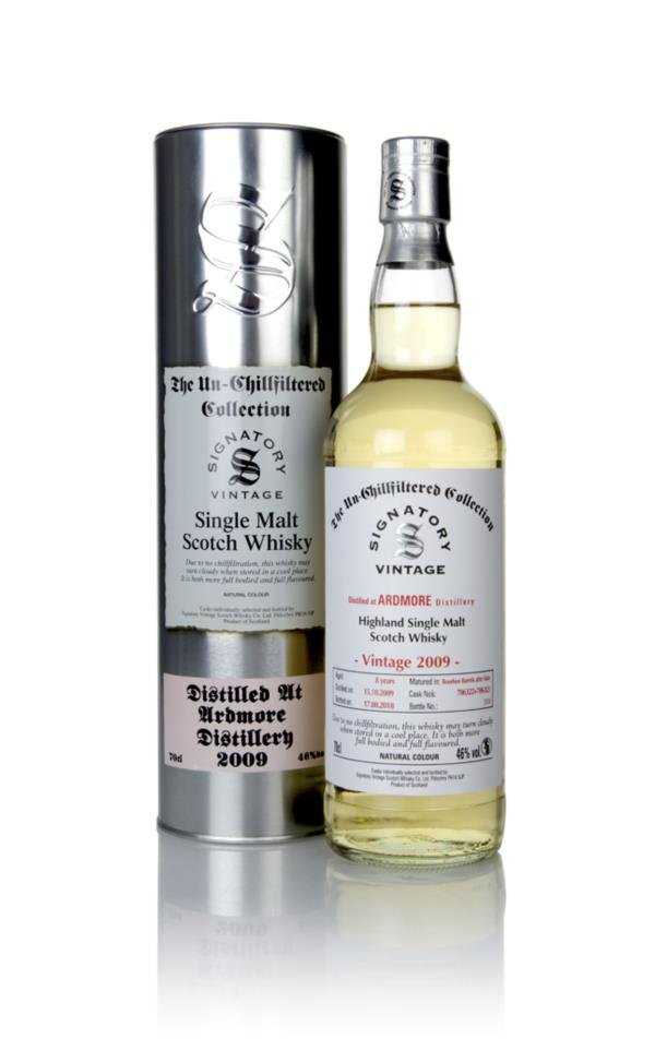 Ardmore 8 Year Old 2009 (casks 706322 & 706323) - Un-Chillfiltered Col Single Malt Whisky