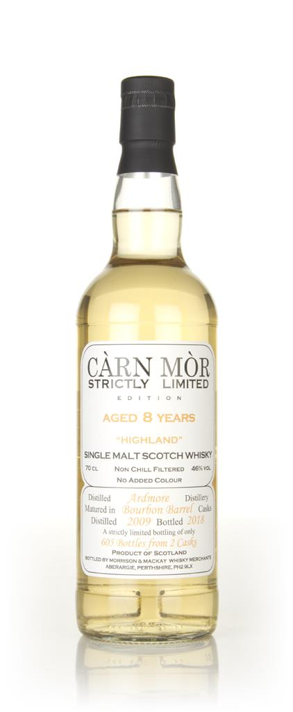 Ardmore 8 Year Old 2009 - Strictly Limited (Carn Mor) Single Malt Whisky