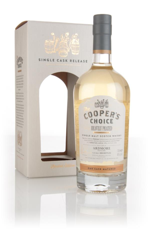 Ardmore Heavily Peated (cask 884) - The Cooper's Choice (The Vintage M Single Malt Whisky 3cl Sample