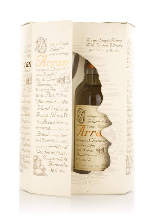 Arran 10 Year Old + Nosing Glasses Single Malt Whisky
