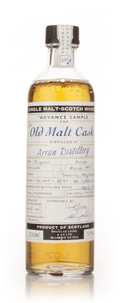 Arran 10 Year Old 1997 - Old Malt Cask Advance Sample (Douglas Laing) Single Malt Whisky