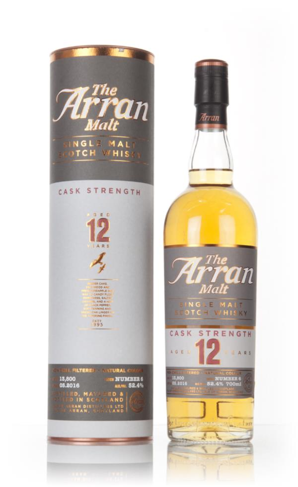Arran 12 Year Old Cask Strength - Batch 6 Single Malt Whisky