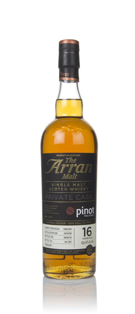 Arran 16 Year Old 2000 (cask 2000/294) -  Private Cask Single Malt Whisky