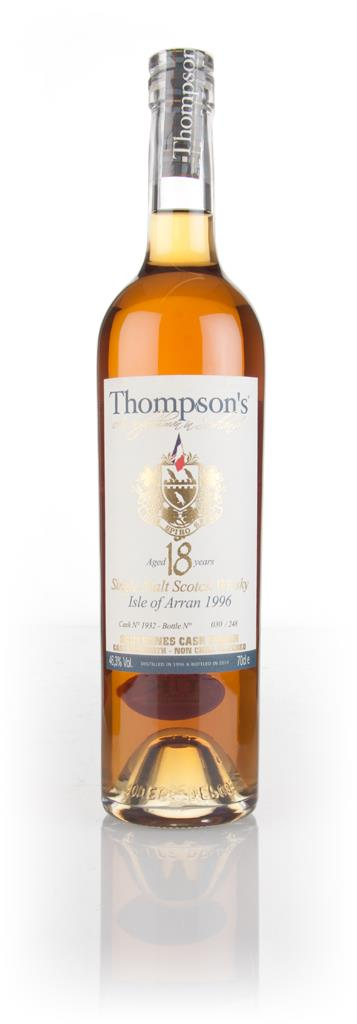 Arran 18 Year Old 1996 (cask 1932) - Thompsons Single Malt Whisky