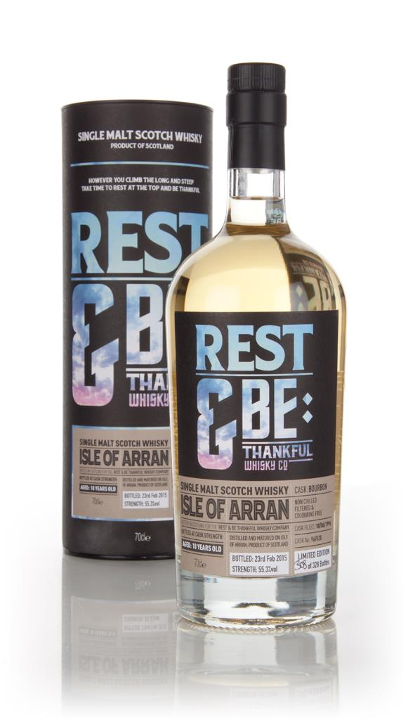 Arran 18 Year Old 1996 (cask 96528) (Rest & Be Thankful) Single Malt Whisky