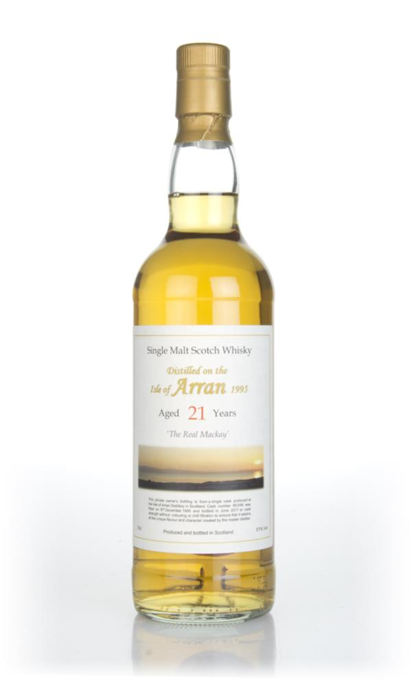 Arran 21 Year Old 1995 (cask 95/348) - Private Cask Single Malt Whisky