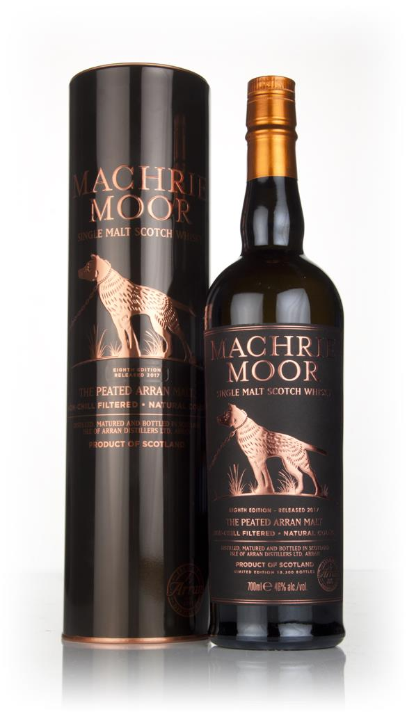 Arran Machrie Moor Peated - Batch 8 Single Malt Whisky