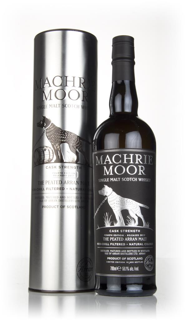 Arran Machrie Moor Peated Cask Strength - Fourth Edition Single Malt Whisky