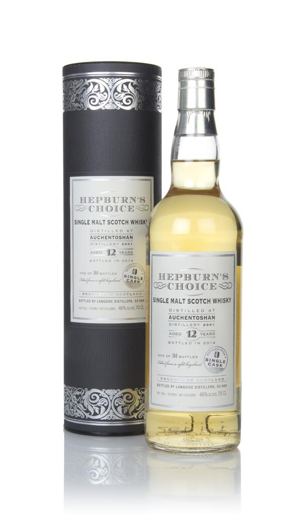 Auchentoshan 12 Year Old 2001 (bottled 2014) - Hepburns Choice (Langs Single Malt Whisky