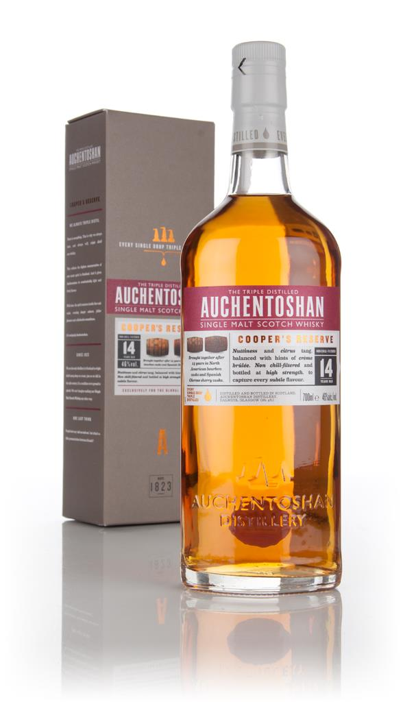 Auchentoshan 14 Year Old Coopers Reserve Single Malt Whisky