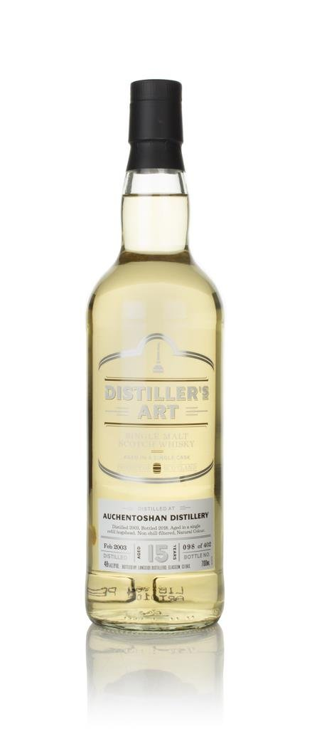 Auchentoshan 15 Year Old 2003 - Distillers Art (Langside) Single Malt Whisky