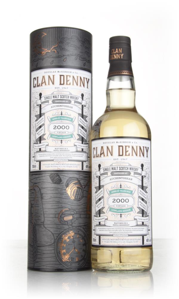 Auchentoshan 16 Year Old 2000 (cask 11750) - Clan Denny (Douglas Laing Single Malt Whisky