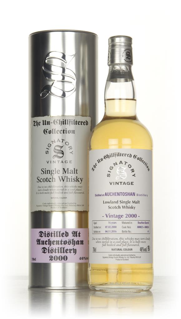 Auchentoshan 16 Year Old 2000 (casks 800023 & 800024) - Un-Chillfilter Single Malt Whisky