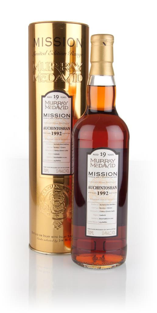 Auchentoshan 19 Year Old 1992 - Mission Gold (Murray McDavid) 3cl Samp Single Malt Whisky 3cl Sample
