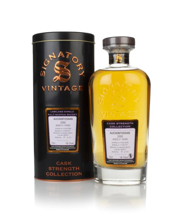 Auchentoshan 21 Year Old 2000 (cask 800027) - Cask Strength Collection Single Malt Whisky