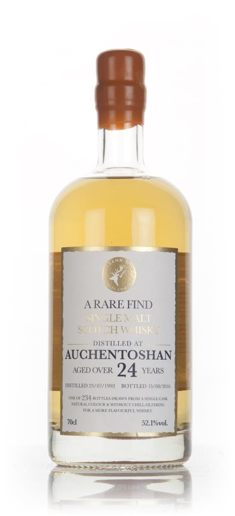 Auchentoshan 24 Year Old 1992 - A Rare Find (Gleann Mor) 3cl Sample Single Malt Whisky