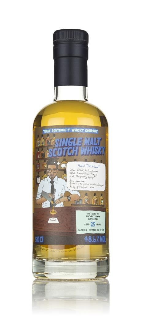Auchentoshan 25 Year Old (That Boutique-y Whisky Company) 3cl Sample Single Malt Whisky