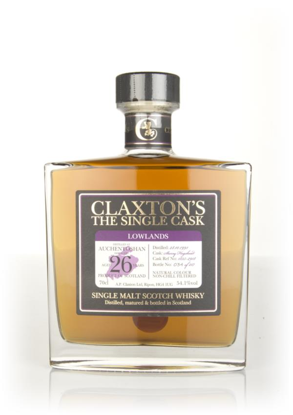 Auchentoshan 26 Year Old 1991 - Claxtons Single Malt Whisky