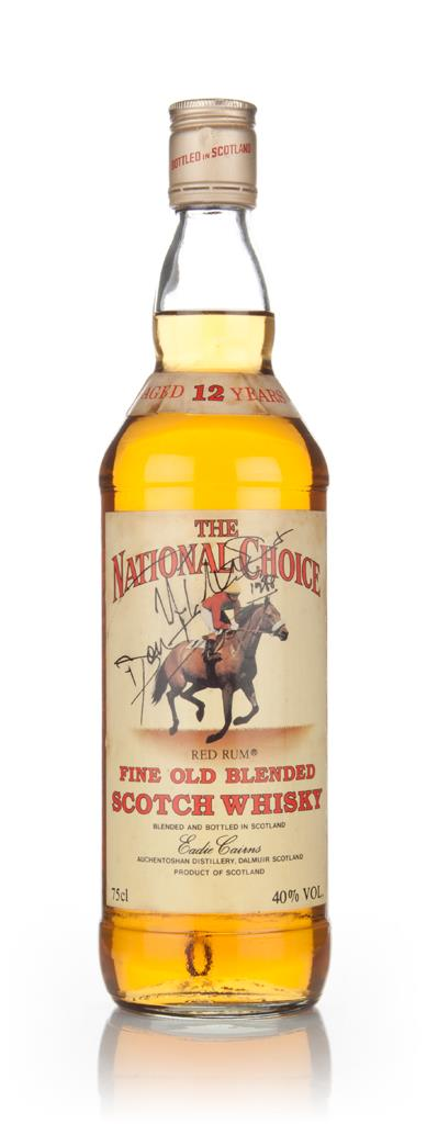 The National Choice 12 Year Old - early 1980s Blended Whisky