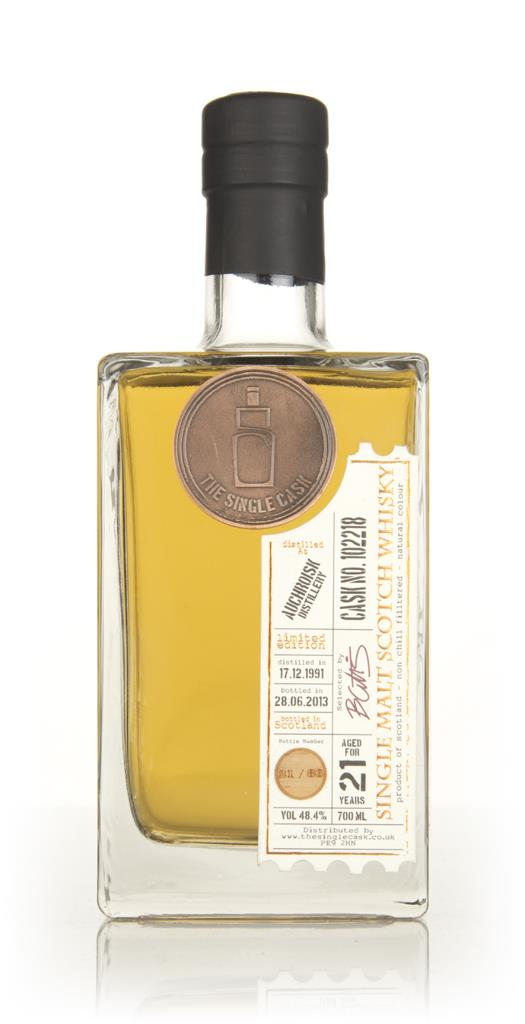 Auchroisk 21 Year Old 1991 (cask 102218) - The Single Cask Single Malt Whisky