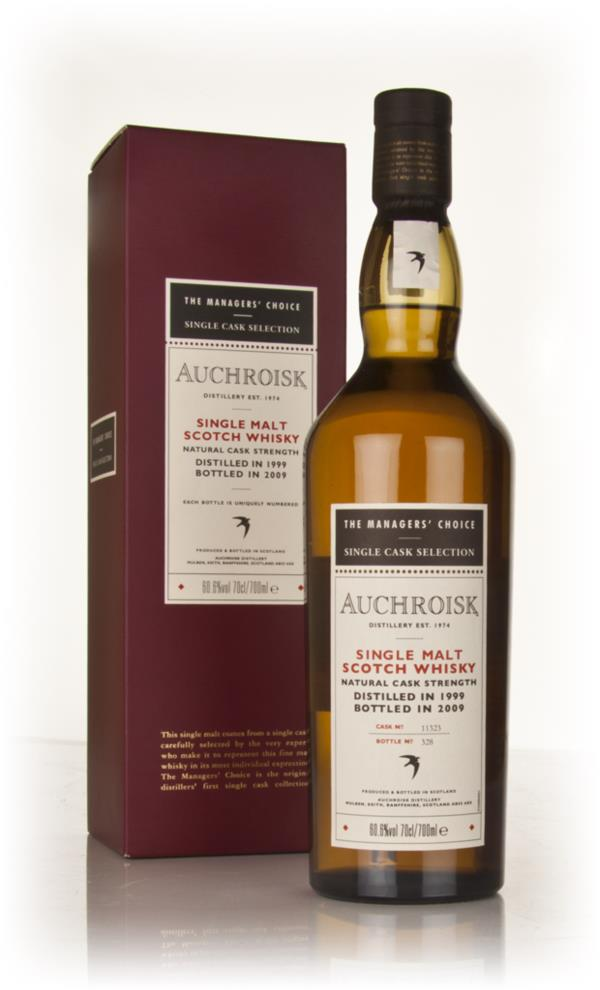 Auchroisk 1999 - Managers Choice 3cl Sample Single Malt Whisky
