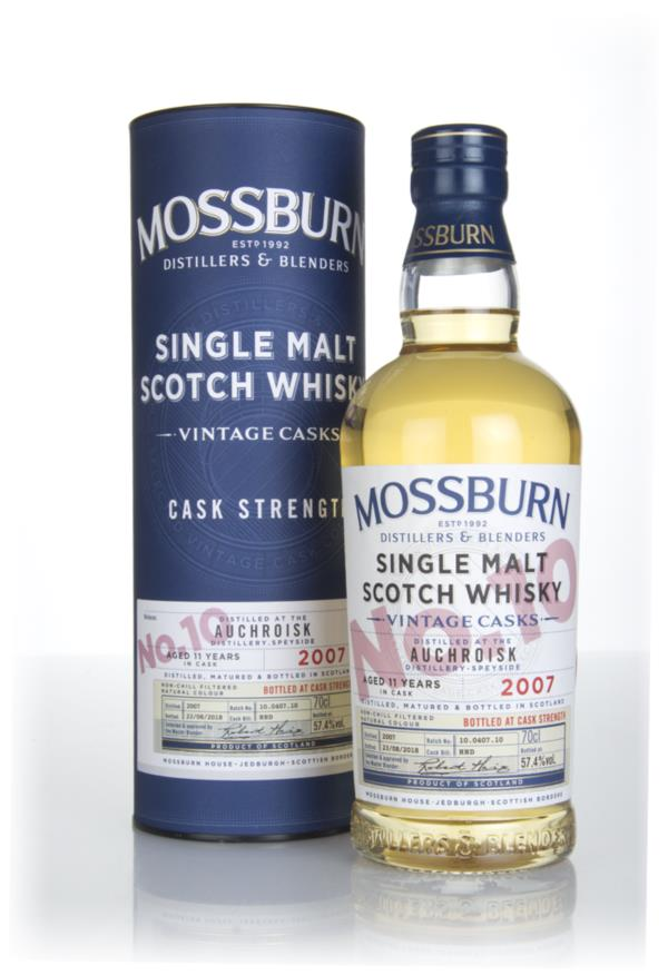Auchroisk 11 Year Old 2007 - Cask Strength (Mossburn) Single Malt Whisky