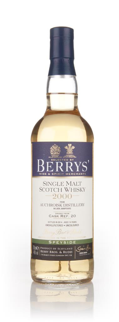 Auchroisk 14 Year Old 2000 (cask 20) - (Berry Bros. & Rudd) Single Malt Whisky