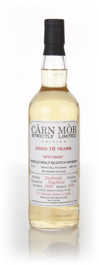 Auchroisk 16 Year Old 1999 - Strictly Limited (Carn Mor) Single Malt Whisky